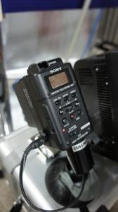 HVR-MRC1KはCFカードにデータ収録する機材