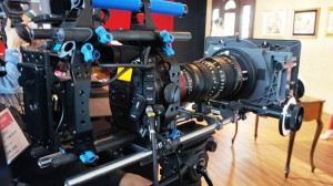 EOS C300 Inter Beeブース内にて