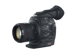 CANON新型ビデオカメラc300