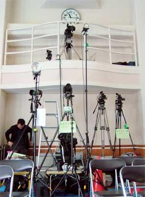 赤坂にあるビデオ制作会社のブログ-撮影カメラ群