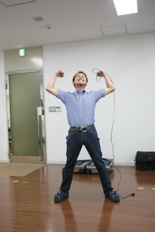 港区赤坂にあるビデオ制作会社のブログ-専務38復活!