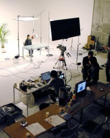 港区赤坂にあるビデオ制作会社のブログ-スタジオ撮影