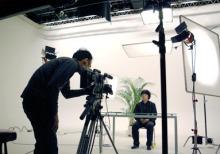 港区赤坂にあるビデオ制作会社のブログ-麹町スタジオ撮影2