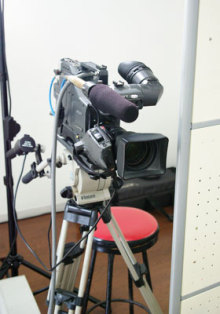 港区赤坂にあるビデオ制作会社のブログ-スタジオで使用したカメラ