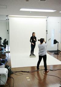 港区赤坂にあるビデオ制作会社のブログ-スタジオでテスト撮影