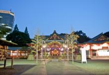 港区赤坂にあるビデオ制作会社のブログ-宮入り後の日枝神社
