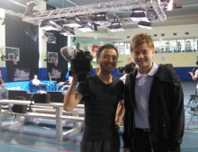 港区赤坂にあるビデオ制作会社のブログ-アジアランク一位のカー・ピンイーと専務