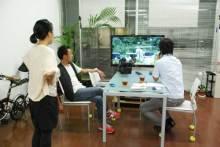 港区赤坂にあるビデオ制作会社のブログ-PMW-350で撮影した映像をチェック