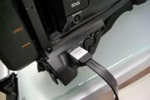 港区赤坂にあるビデオ制作会社のブログ-PMW-350からHDMIでテレビに出力
