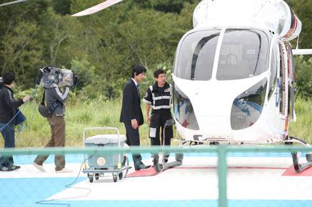 港区赤坂にあるビデオ制作会社のブログ-ドクターヘリ