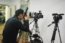 港区赤坂にあるビデオ制作会社のブログ-NXCAM HVR-NX5Jを撮影する専務