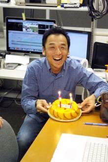 港区赤坂にあるビデオ制作会社のブログ-専務40歳の誕生日