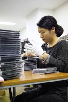 港区赤坂にあるビデオ制作会社のブログ-DVDケース入れ