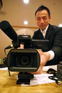 港区赤坂にあるビデオ制作会社のブログ-小型カメラで撮影