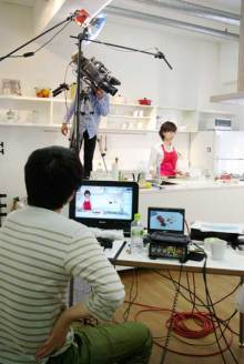 港区赤坂にあるビデオ制作会社のブログ-クッキングスタジオ撮影