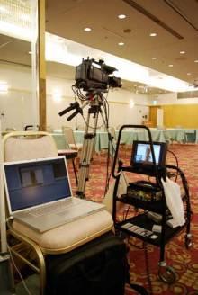 港区赤坂にあるビデオ制作会社のブログ-セミナー撮影用のビデオカメラ機材