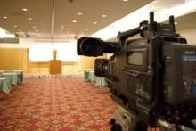 港区赤坂にあるビデオ制作会社のブログ-アルカディア市ヶ谷私学会館での撮影