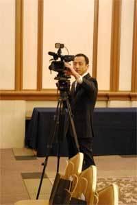 港区赤坂にあるビデオ制作会社のブログ-移動カメラ担当の専務