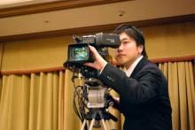 港区赤坂にあるビデオ制作会社のブログ-後方固定カメラ担当のISO