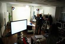 港区赤坂にあるビデオ制作会社のブログ-アルファスタジオでの撮影