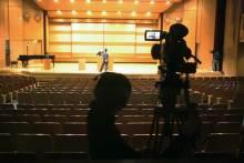 港区赤坂にあるビデオ制作会社のブログ-会場後方カメラの様子