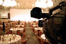 港区赤坂にあるビデオ制作会社のブログ-新高輪プリンスホテル飛天の間で撮影