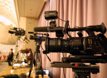港区赤坂にあるビデオ制作会社のブログ-この日の撮影はカメラを3台使用