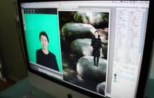 港区赤坂にあるビデオ制作会社のブログ-クロマキー合成テスト